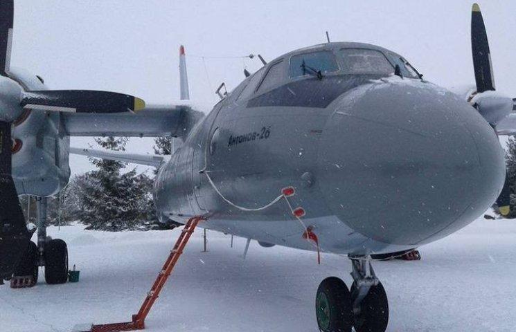 Ан-26 імені загиблого льотчика Дмитра Майбороди став на крило