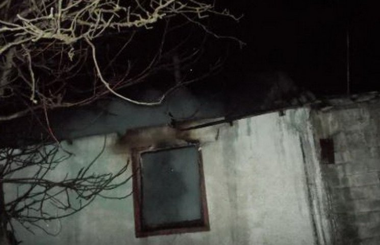 В Криворожском районе в пожаре погиб мужчина и один из маленьких близнецов