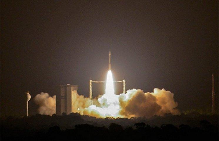 Ракета з дніпрянським двигуном вивела на орбіту турецький супутник