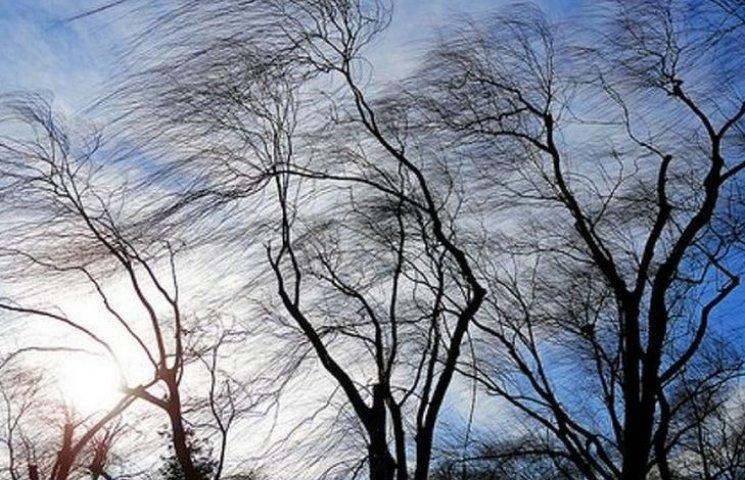 На Вінниччині вітер збиватиме з ніг