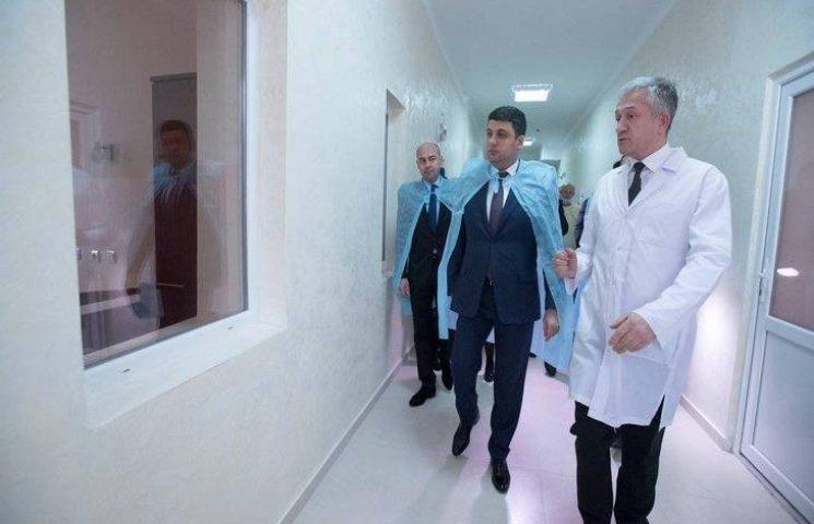 Прем'єр-міністр відкрив оновлений корпус…