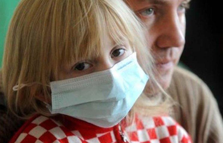 У Бердянську 70% хворих на ГРВІ – діти