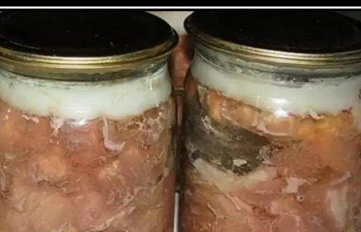 Домашняя тушенка из свинины рецепт с фото