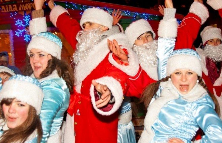 На центральній вулиці Вінниці діятиме Резиденція Діда Мороза