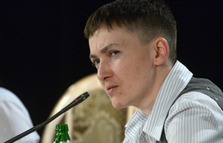 Савченко пояснила, чому заступилася за ув