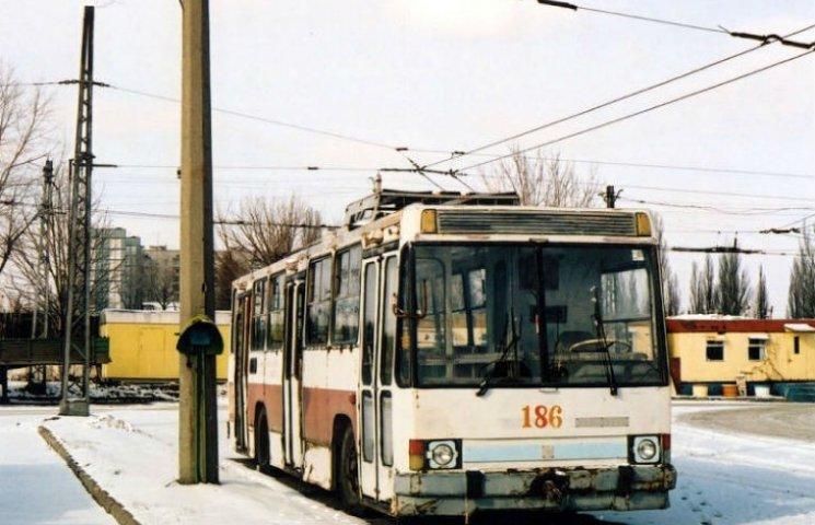 На новорічні свята проїзд в тролейбусах Кременчука буде безкоштовним