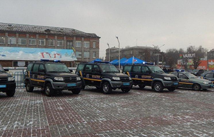 В Каменском начали работу группы реагирования патрульной полиции