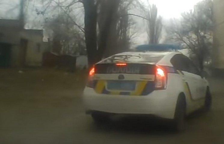 Опубліковано відео аварійної їзди криворізьких поліцейських