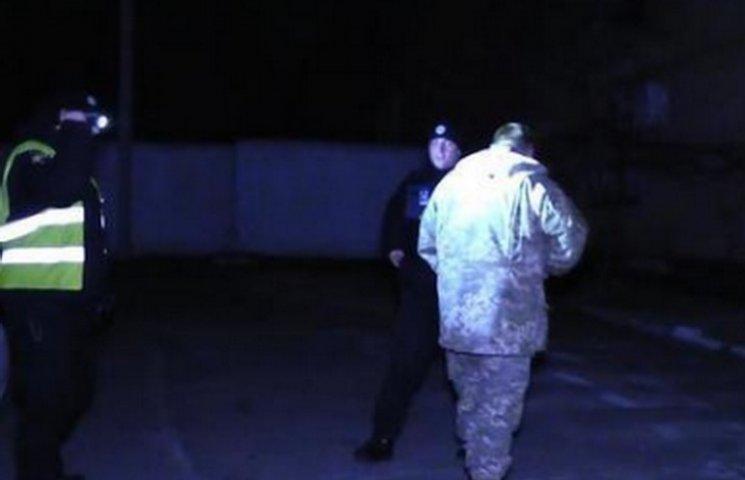 В Кривом Роге патрульные полицейские задержали нетрезвого военкома