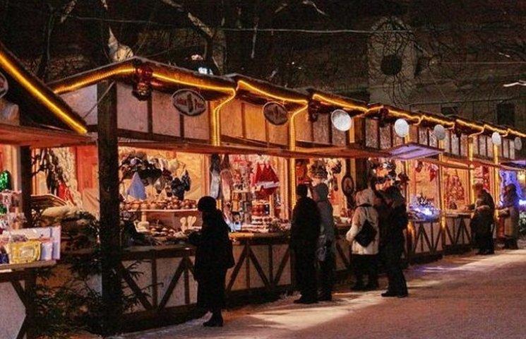У центрі Вінниці цілий місяць триватиме Різдвяний ярмарок