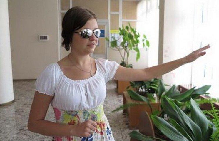 В Днипре у слепой девушки-музыканта открылся дар предвидения