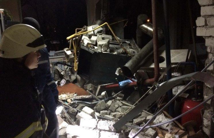 В Днипре ночью на заводе произошел взрыв