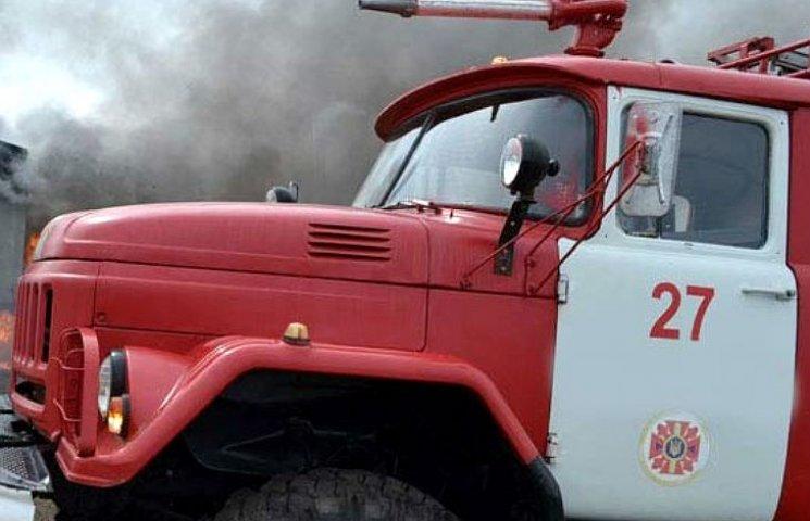 В Полтаве во время пожара погиб мужчина