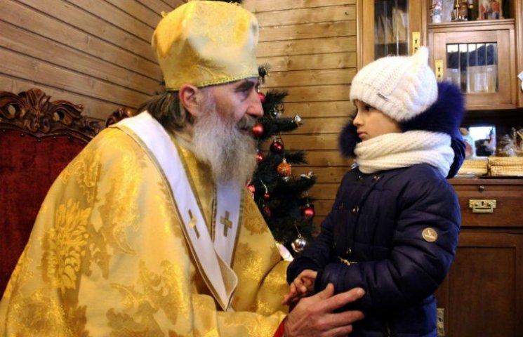 В Полтаве торжественно открыли домик Святого Николая