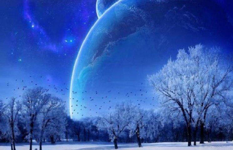 """Сонячний диск """"завис"""". Сьогодні день зим…"""