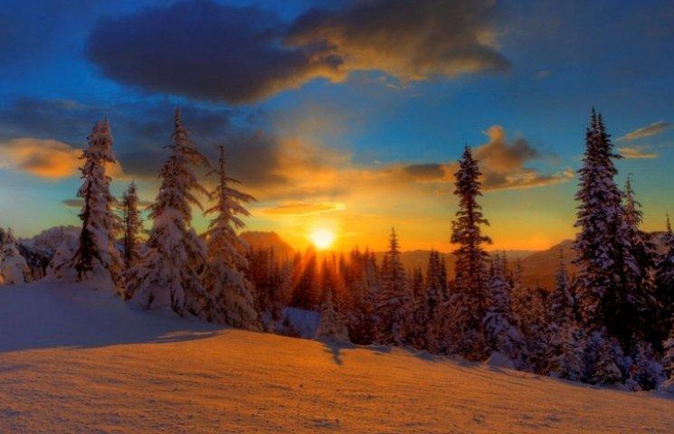 22 грудня - день, коли змагаються світло…