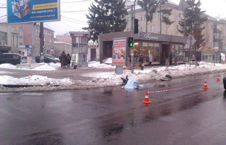 У Полтаві на пішохідному переході загинула жінка