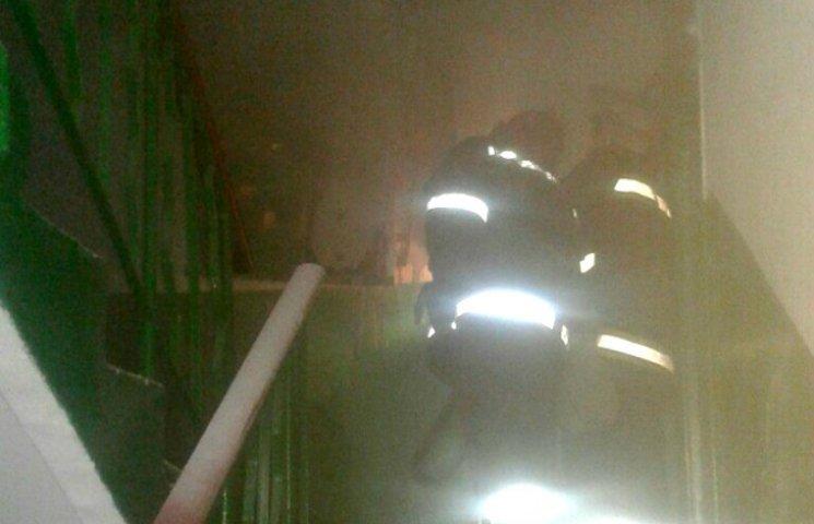 В Миргороде горела многоэтажка