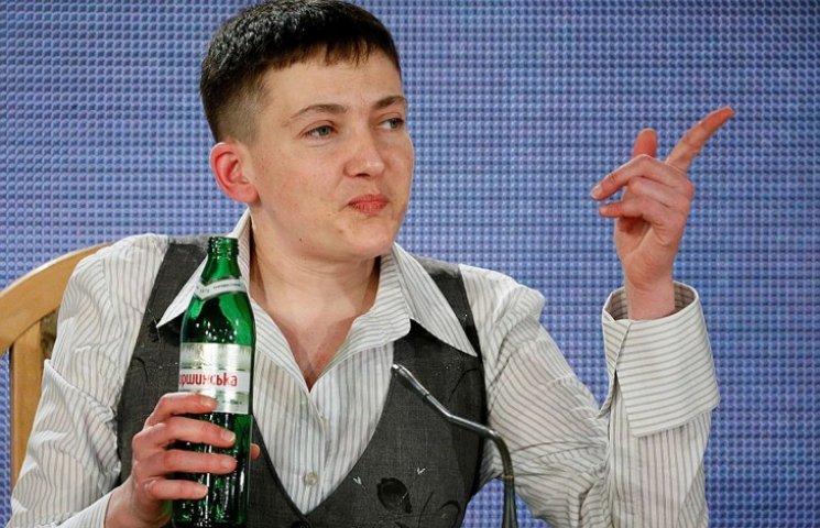 """Савченко планирует создать партию из """"консерв"""""""