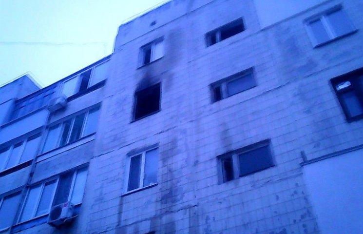 Поблизу Полтави з палаючої багатоповерхівки врятували двох дітей
