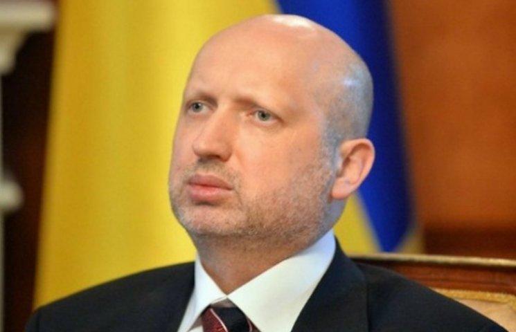 Турчинов сделал предупреждение блокирующим ОРДЛО
