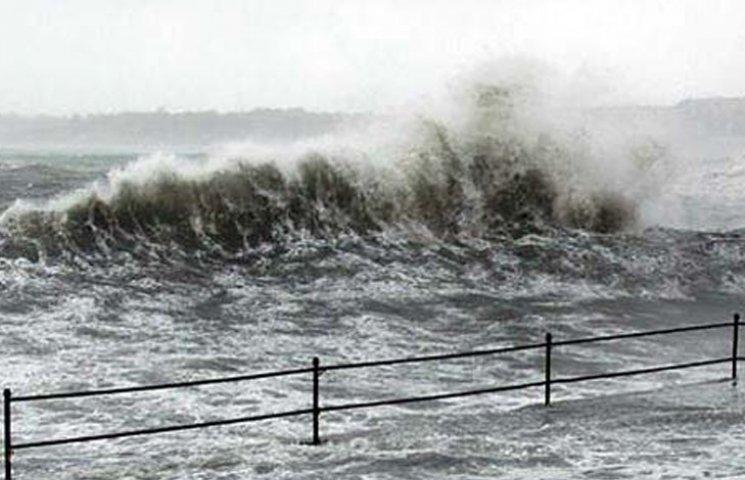 У Бердянську передають штормове попередження