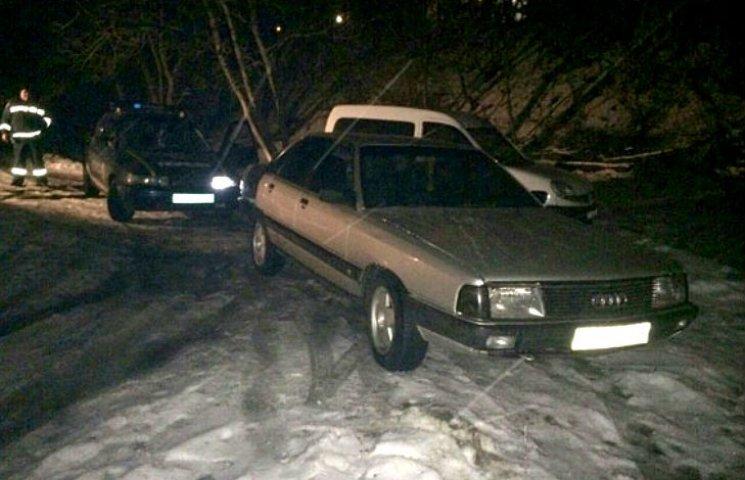 На Полтавщині поліція знайшла викрадену автівку