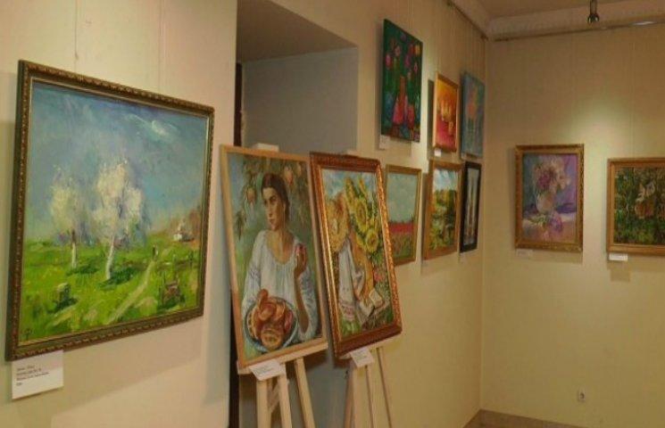 В Полтаве открыли первую выставку глухих художников