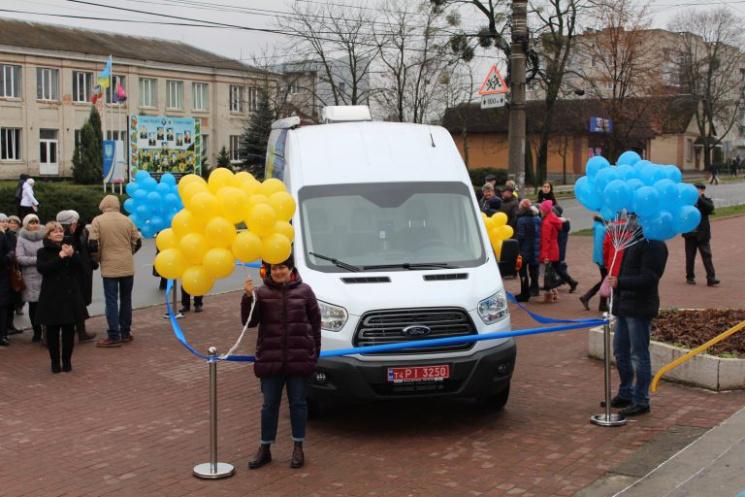 Перший в Україні мобільний ЦНАП запрацював на Хмельниччині