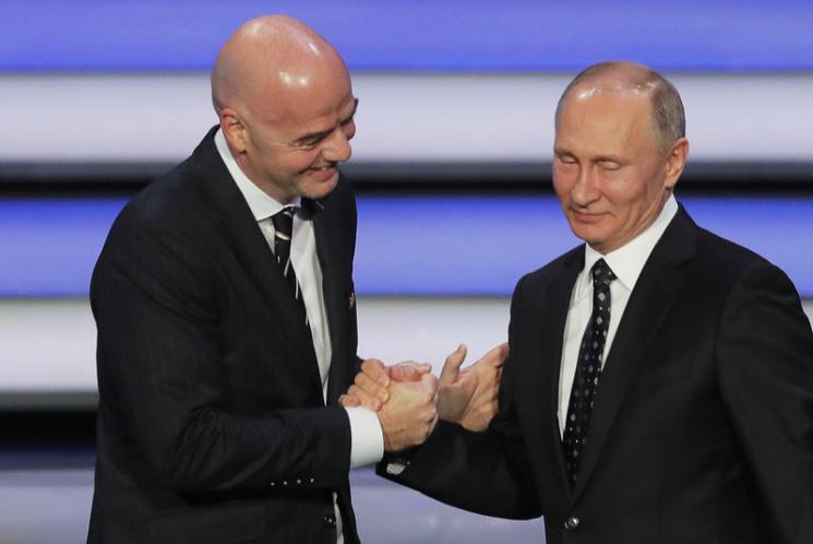 Гости ЧМ-2018 будут ввосторге отрадушия россиян— Президент ФИФА