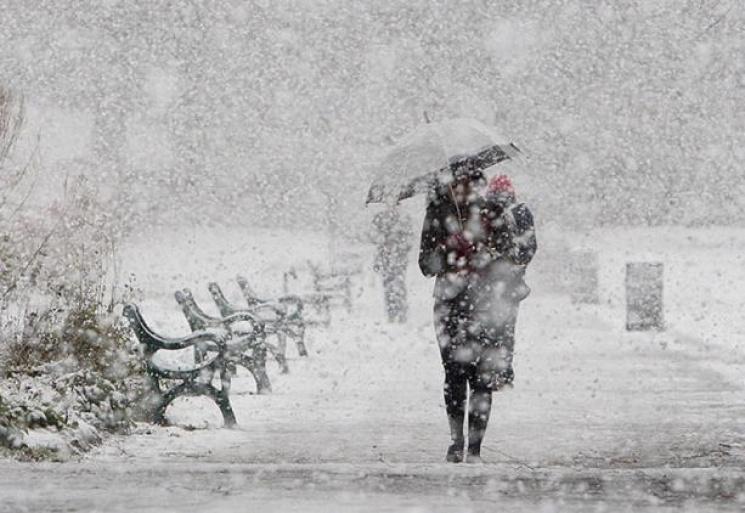 Жителей Львовщины предупреждают о снегоп…