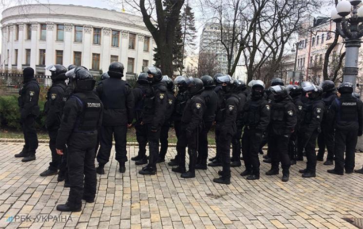 Саакашвілі разом із групою бойовиків захопили комітет Верховної Ради, відкрито кримінальне провадження