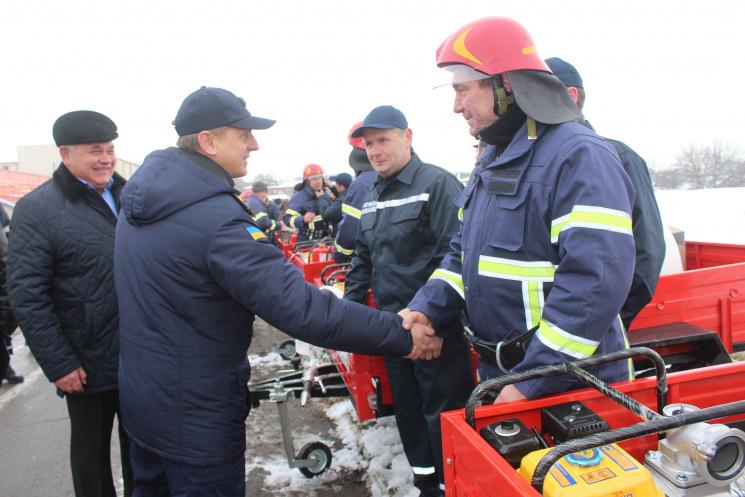 """""""Пожежна"""" децентралізація: Хмельницькі вогнеборці єдині в Україні, що мають сільські пункти"""