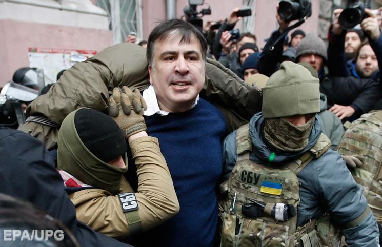 Відео дня: Саакашвілі проти СБУ, Парасюк проти поліції