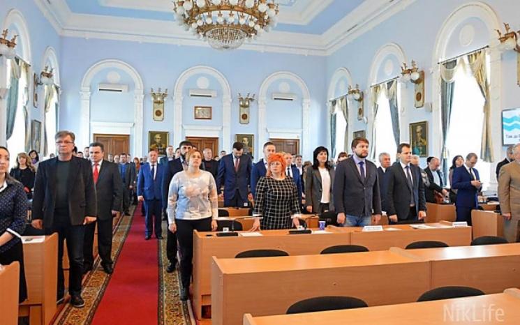 Депутати Миколаївської міськради знову зібралися на сесію (ВІДЕО)