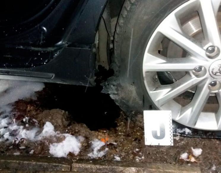 УХаркові підірвали автомобіль співробітника поліції