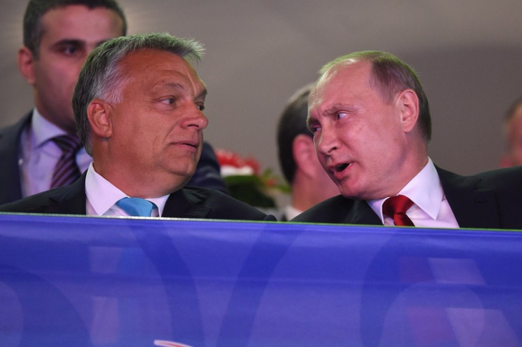 """Сигнал від НАТО: Чи запустить Орбан """"русскій мір"""" до Угорщини"""