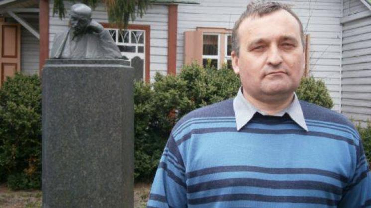 Правнук Коцюбинського отримав нагороду за участь в АТО