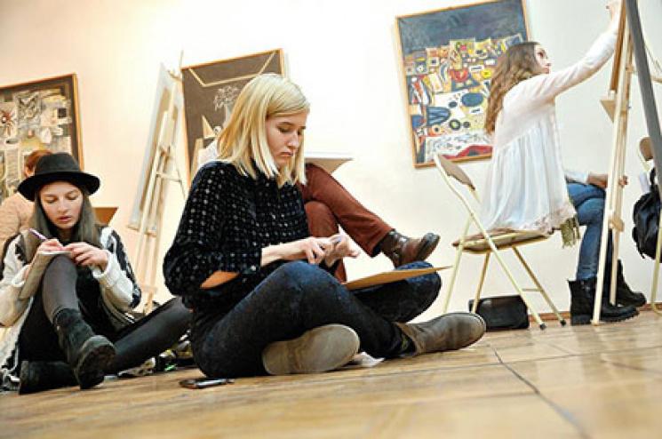 У Хмельницькому обласному художньому музеї започаткували новий арт-проект