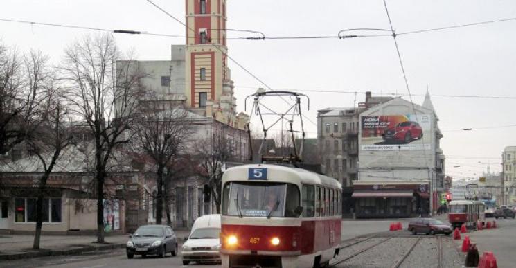 У Харкові деякі трамваї на 10 днів змінять маршрути