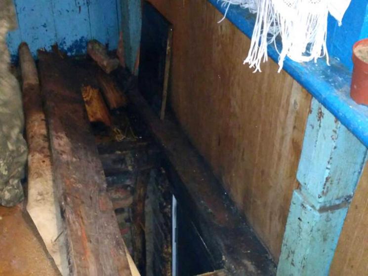 У Полтаві горів підвал житлового будинку