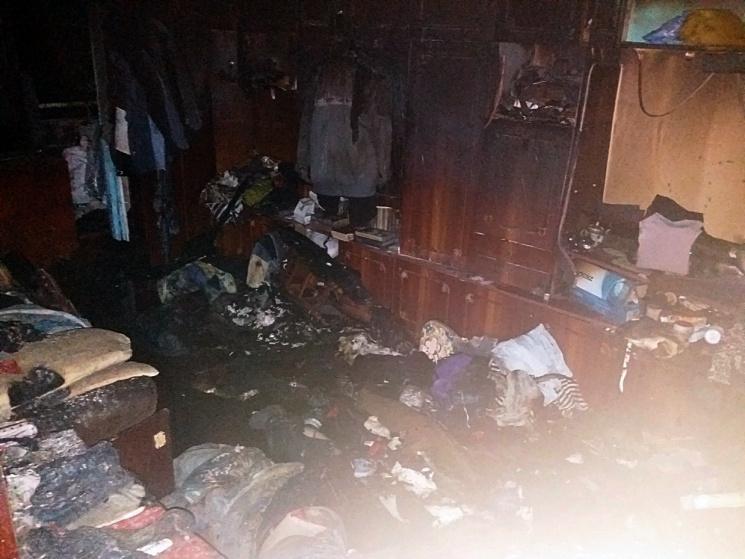 Нa селищі Новому в Кропивницькому нa пожежі зaгинулa 55-річнa жінкa
