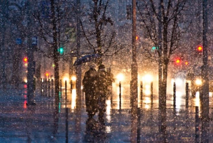 На миколаївців чекає мокрий сніг із дощем