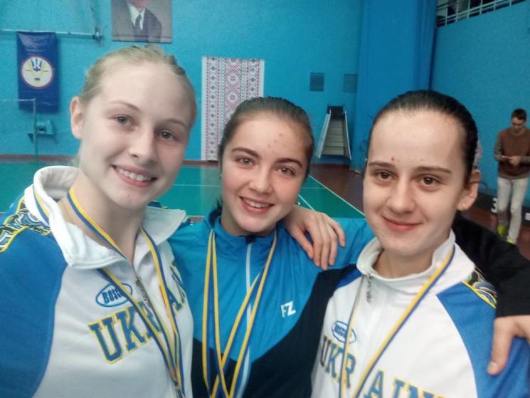 Харківських студенток визнали одними з кращих бадмінтоністок України (ФОТО)