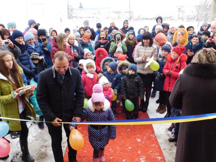 Чекали 27 років: На Тернопільщині врешті відкрили довгоочікуваний дитсадок