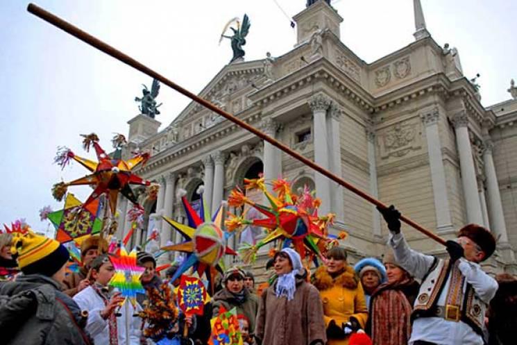 Шопка, дідух і хода звіздарів: З'явилася програма новорічно-різдвяних заходів у Львові (ФОТО)