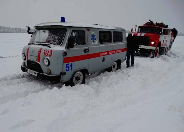 На Рівненщині зі снігової пастки врятува…