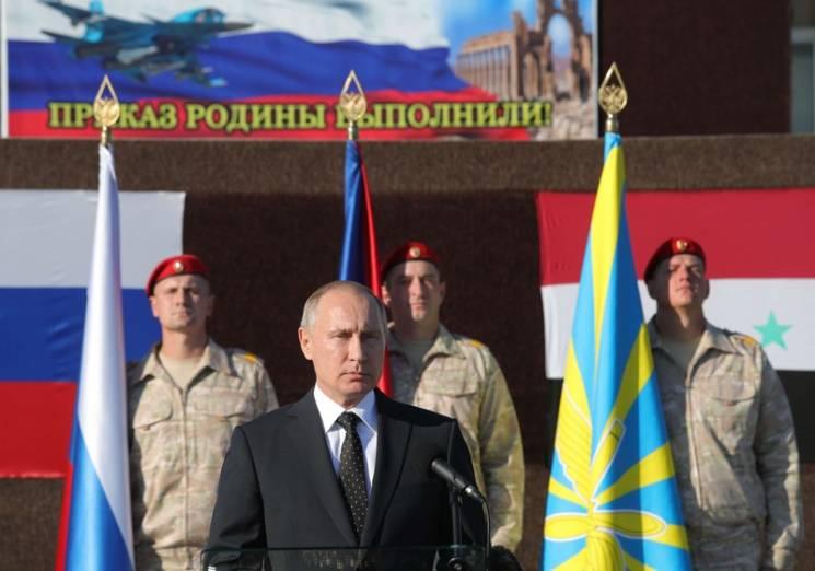 Путин: ежели террористы поднимут голову, Российская Федерация нанесёт новые удары