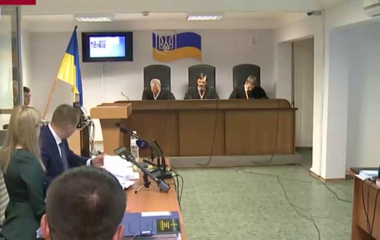 Адвокати Януковича продемонстрували в суді відео з Євромайдану