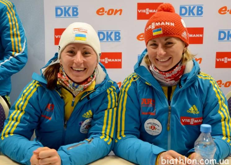 Дві українські біатлоністки завершили втоп-10 гонку переслідування наКубку світу